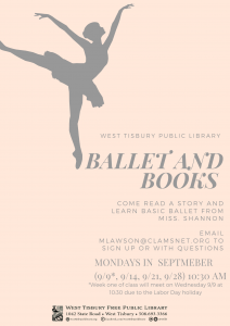 Virtual Ballet and Books