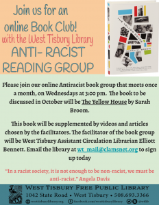 Online Anti-Racist Book Group