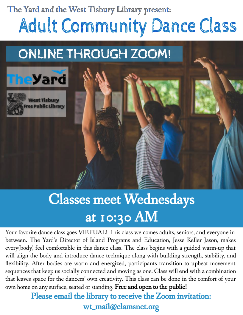 Online Adult Community Dance Class with The Yard