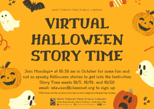 Virtual Halloween Storytime