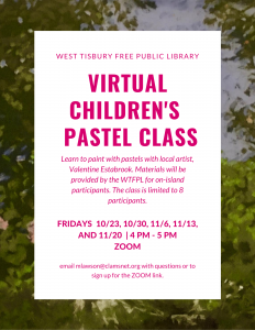 Virtual Kid's Pastel Class