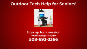 Outdoor Senior Tech Help Time
