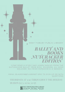 Virtual Nutcracker Books and Ballet