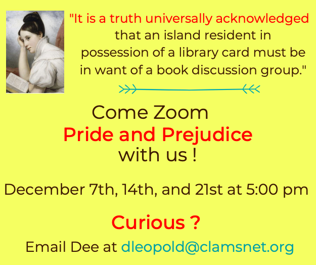 Online Pride and Prejudice Book Group