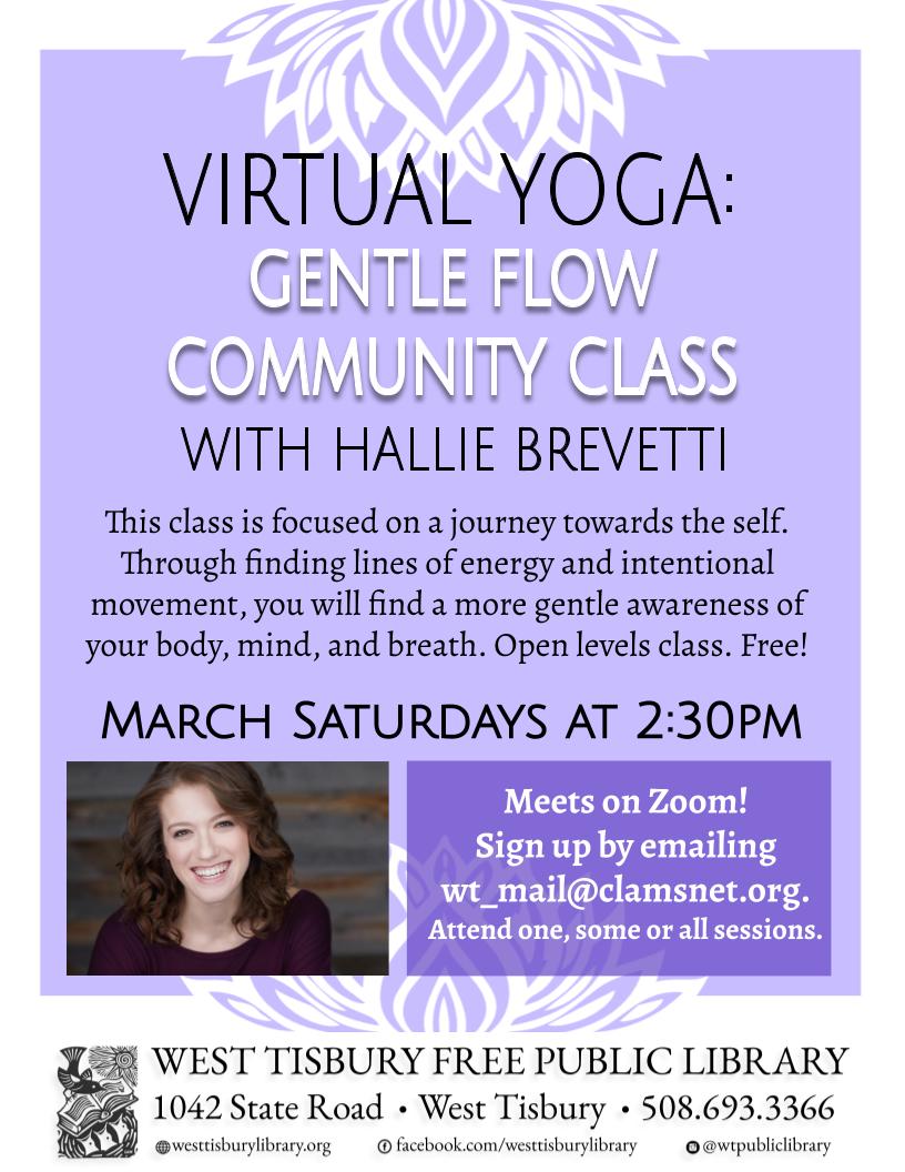 Virtual Yoga: Gentle Flow Community Class