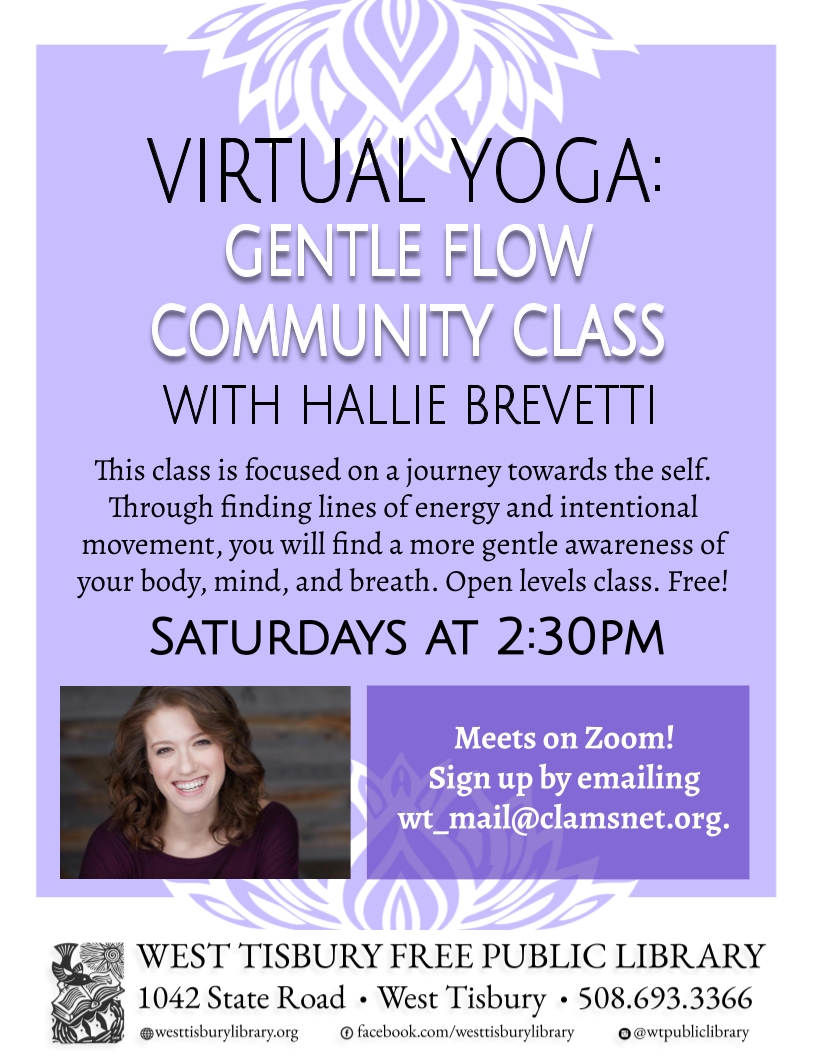 Virtual Yoga: Gentle Flow Community Class