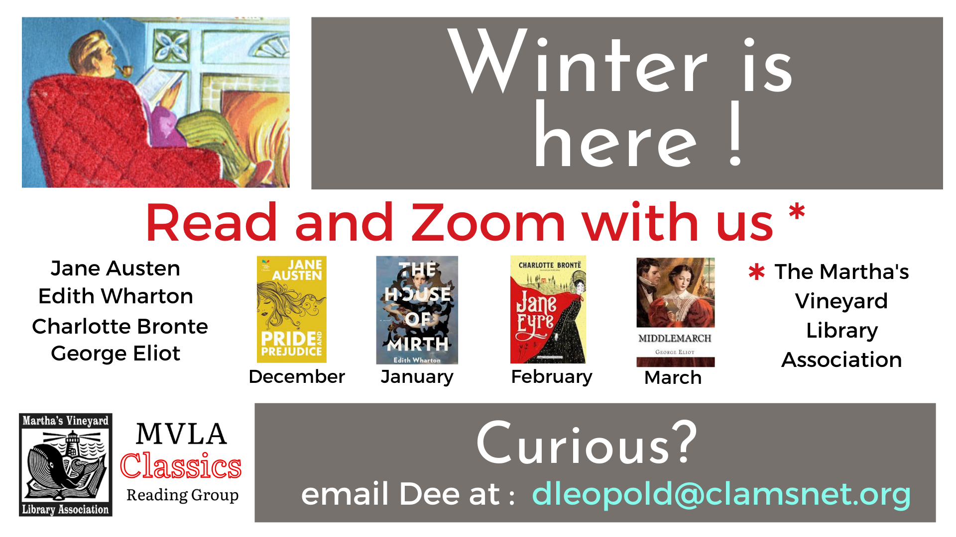 Online Book Group: MVLA Classics