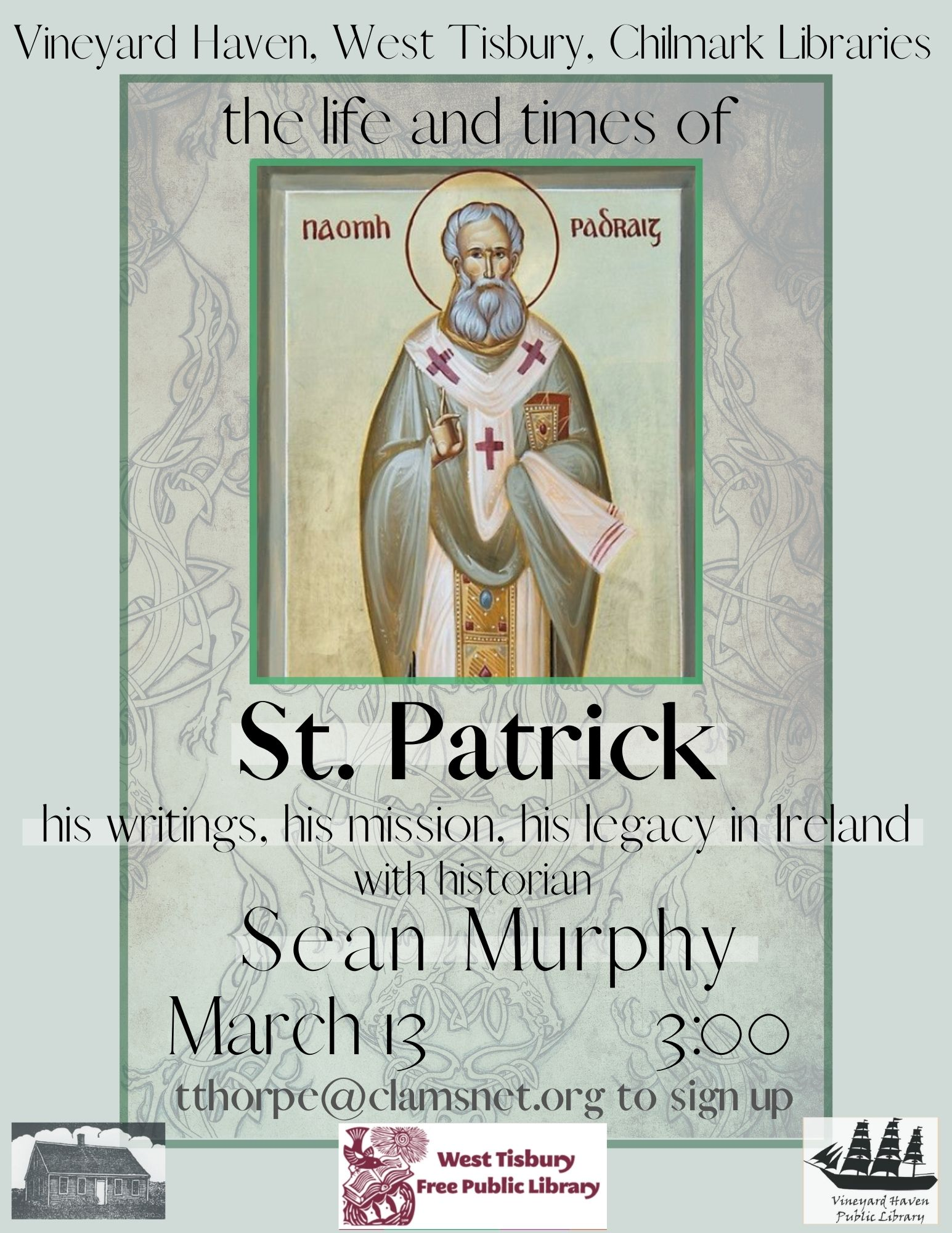 Online Talk: The Life and Times of St. Patrick