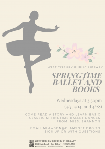 Springtime Ballet and Books