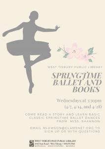 Springtime Ballet and Books