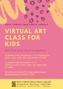 Virtual Art Class for Kids